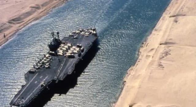 Historia Pregunta Trivia: ¿ Qué presidente egipcio nacionalizó el Canal de Suez?