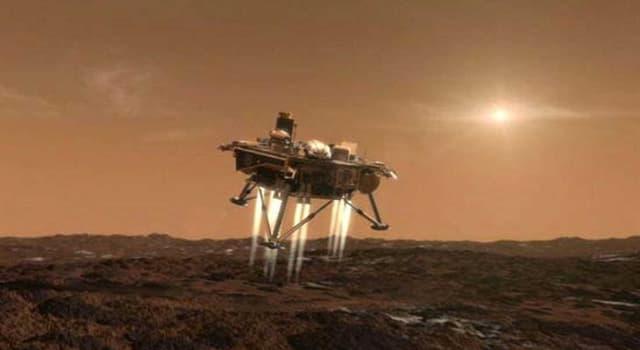 Historia Pregunta Trivia: ¿Qué sonda fue la primera en descender, sin estrellarse, sobre la superficie de Marte?