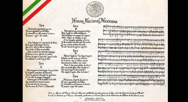 Historia Pregunta Trivia: ¿Quién compusó la música del Himno Nacional Mexicano?
