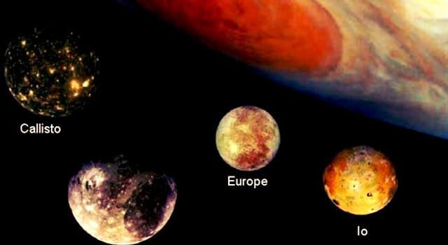 Сiencia Pregunta Trivia: ¿Quién descubrió los cuatro mayores satélites de Júpiter?