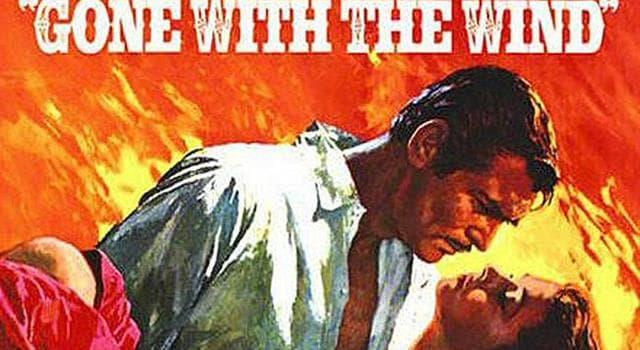 """Historia Trivia: ¿Quién escribió la novela """"Gone with the Wind""""? (Lo que el viento se llevó)"""