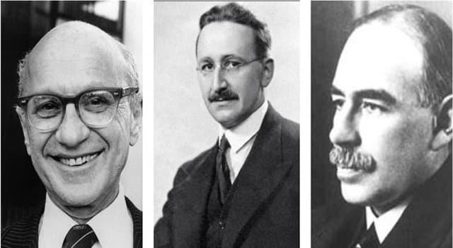 """Historia Pregunta Trivia: ¿Quién escribió la obra """"Teoría general sobre el empleo, el interés y el dinero""""?"""