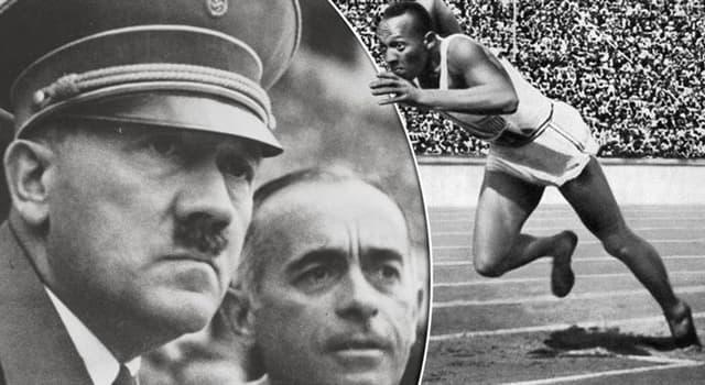 Historia Pregunta Trivia: ¿Quién fue el atleta de color que enfureció a Hitler en los Juegos Olímpicos de 1936?