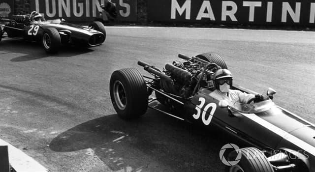 Deporte Pregunta Trivia: ¿Quién fue el único campeón post mortem de la Fórmula 1?