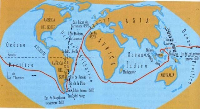 Historia Pregunta Trivia: ¿Quiénes realizaron el primer viaje de circunnavegación?