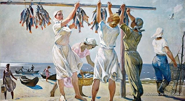 History Trivia Question: What is socialist realism?