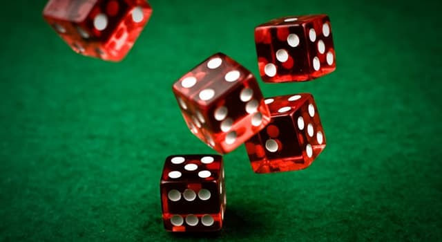 Culture Trivia Question: What is the singular of dice?