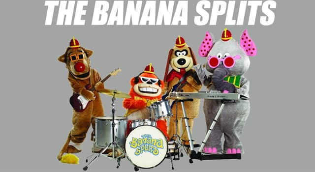 """Movies & TV Trivia Question: What was the name of the group of girls that appeared on the US TV show """"The Banana Splits Adventure Hour""""?"""