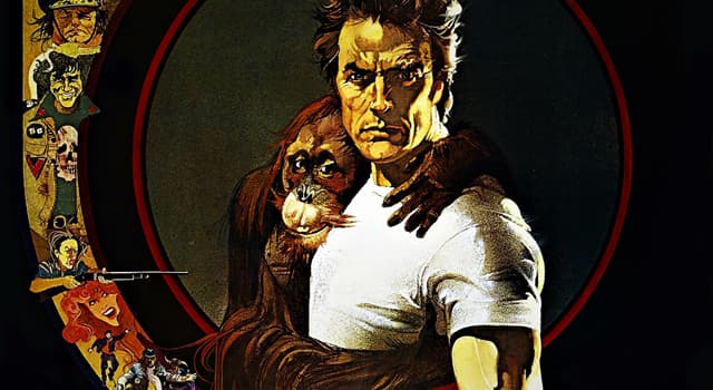 """Movies & TV Trivia Question: What was the name of the orangutan in the Clint Eastwood film """"Every Which Way But Loose""""?"""