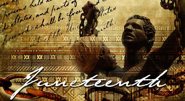 Culture Trivia Question: When is the Juneteenth holiday celebrated in America?