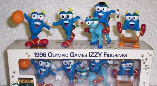 """Society Trivia Question: Which company designed """"Izzy"""" the official mascot of the Atlanta 1996 Summer Olympics?"""