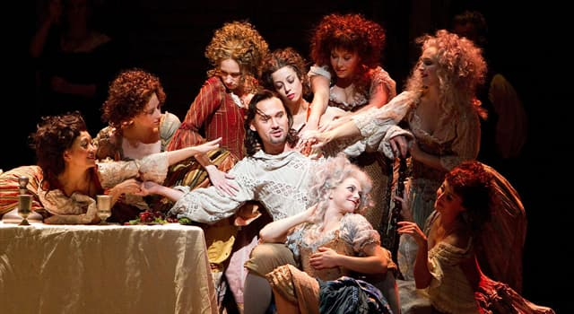 """Culture Trivia Question: Which composer wrote the music for the opera """"Don Giovanni""""?"""