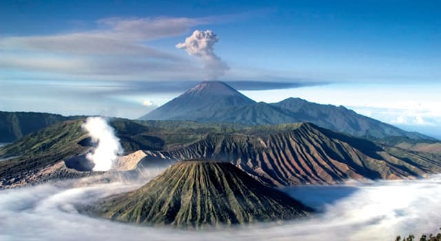 Geography Trivia Question: Which country has the most volcanoes in the world?