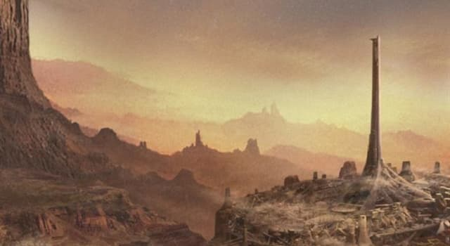 Culture Trivia Question: Which early 20th Century novel is primarily set in a place called 'Barsoom'?