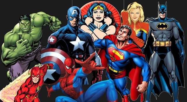 History Trivia Question: Which superhero was created by American cartoonist Stan Lee?