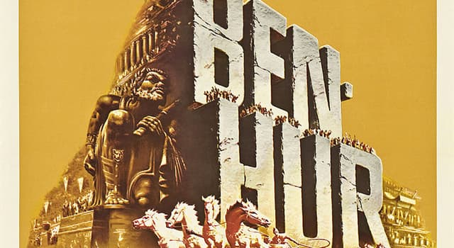 "Movies & TV Trivia Question: Who starred in a 1959 American epic religious drama film ""Ben-Hur""?"