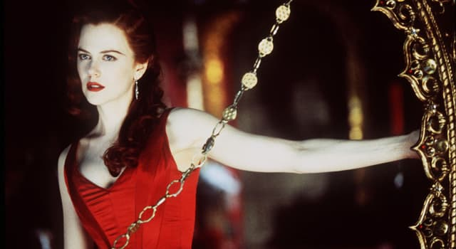 """Movies & TV Trivia Question: Who was Nicole Kidman's co-star in """"Moulin Rouge""""?"""
