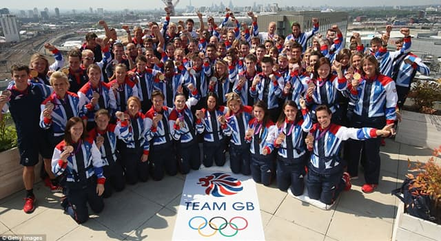 Sport Trivia Question: At the London 2012 Olympics, how many silver medals were won by Team GB?