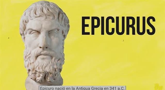 Cultura Pregunta Trivia: ¿Cómo es el dolor para Epicuro?