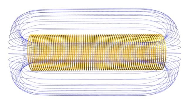 Сiencia Pregunta Trivia: ¿Cómo se le llama al objeto formada por un alambre enrollado en espiral sobre una armazón cilíndrica, y que crea un campo magnético?