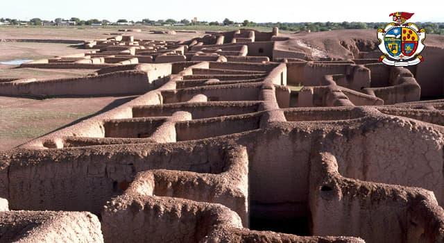 Cultura Pregunta Trivia: ¿Cómo se llama al  asentamiento prehispánico de la imagen?