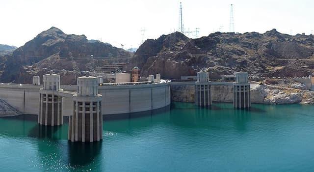 Geografía Pregunta Trivia: ¿Cómo se llama el lago originado por la presa Hoover en el Río Colorado?