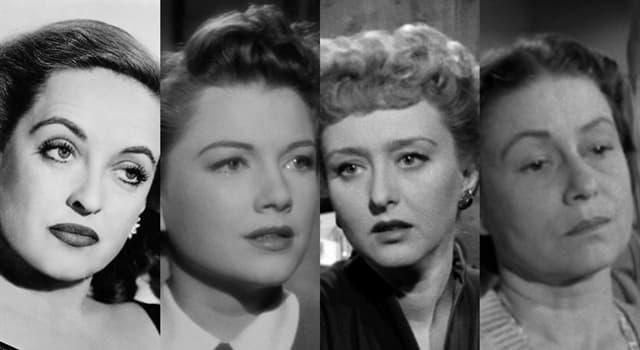 """Películas y TV Pregunta Trivia: ¿Cuál de las siguientes actrices interpretó a Eve, en la película """"All about Eve""""?"""