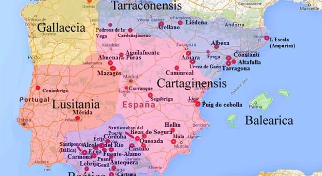 Geografía Pregunta Trivia: ¿Cuál de las siguientes ciudades de España lleva el nombre de un emperador romano?