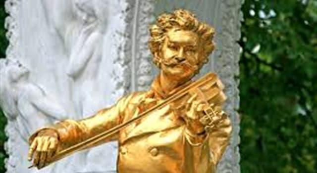Cultura Pregunta Trivia: ¿Cuál de los siguientes valses no fue escrito por Johann Strauss?