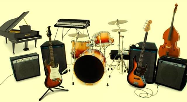 Cultura Pregunta Trivia: ¿Cuál es el instrumento musical más antiguo?