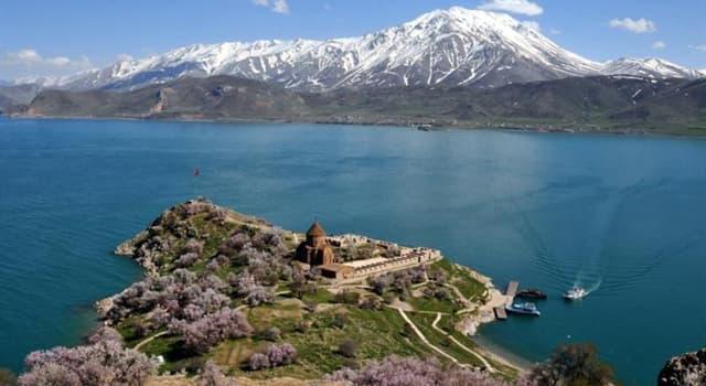 Geografía Pregunta Trivia: ¿Cuál es el lago más grande de Turquía?
