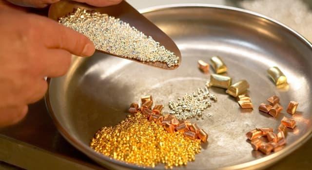 Naturaleza Pregunta Trivia: ¿Cuál es el metal más caro del mundo?