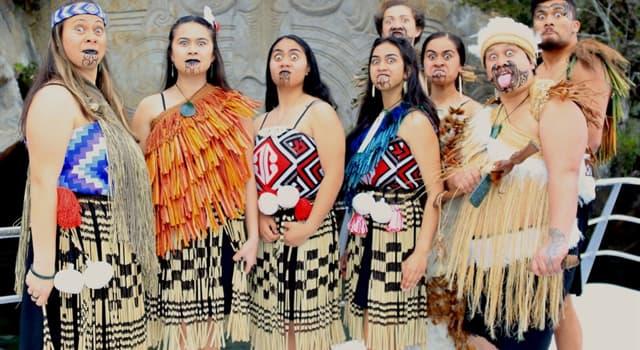 Sociedad Pregunta Trivia: ¿Cuál es el nombre de la población aborigen de Nueva Zelanda?