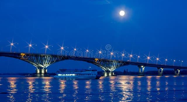 Geografía Pregunta Trivia: ¿Cuál es el río más largo de Europa?