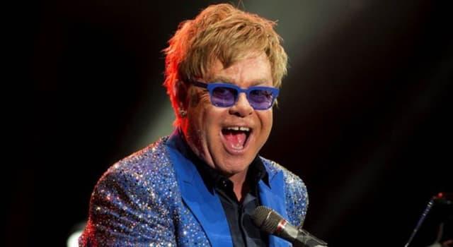 Películas y TV Trivia: ¿Cuál es el verdadero nombre del cantante Elton John?