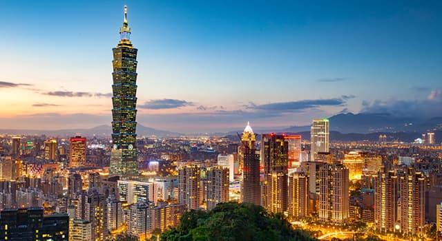 Geografía Pregunta Trivia: ¿Cuál es la capital de Taiwan?