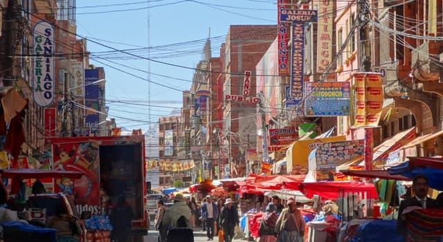 Geografía Pregunta Trivia: ¿Cuál es la ciudad que se encuentra ubicada a mayor altura en Bolivia?