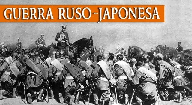 Historia Pregunta Trivia: ¿Cuál fue el motivo de la Guerra ruso-japonesa?