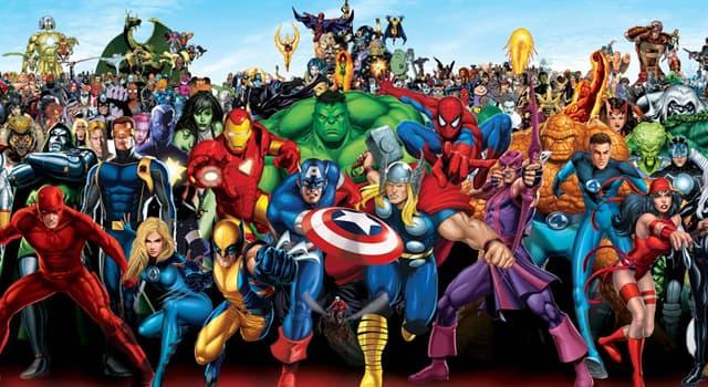 Películas y TV Pregunta Trivia: ¿Cuál fue el primer superhéroe de Marvel Cómics?
