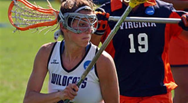"""Deporte Pregunta Trivia: ¿Cuántos jugadores tiene un equipo de """"lacrosse""""?"""