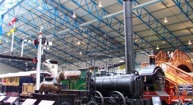 Geografía Pregunta Trivia: ¿Dónde se encuentra el mayor museo del ferrocarril?