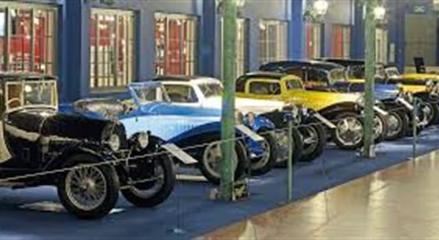 Cultura Pregunta Trivia: ¿Dónde se encuentra el museo con la mayor colección de automóviles del mundo?