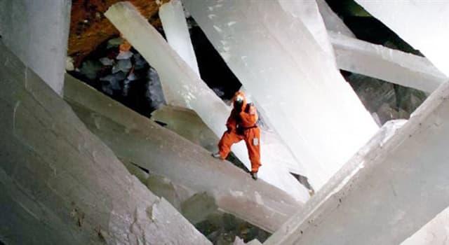 Naturaleza Pregunta Trivia: ¿Dónde se encuentra la cueva de los cristales gigantes de Naica?