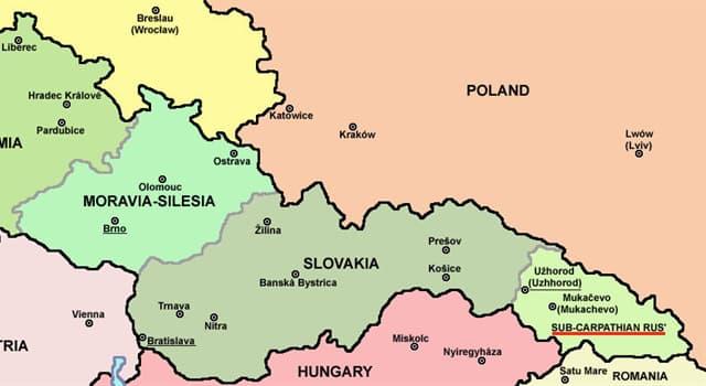 Historia Pregunta Trivia: ¿Durante cuánto tiempo existió la República de Rutenia o Cárpato-Ucrania?