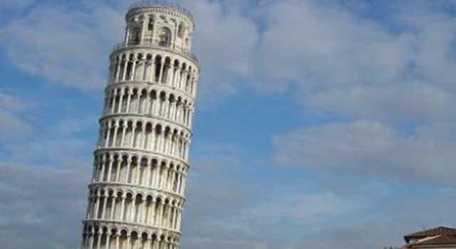 Historia Pregunta Trivia: ¿En qué año se inició la construcción de la Torre de Pisa?