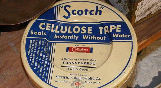 Historia Pregunta Trivia: ¿En qué año se inventó la cinta adhesiva?