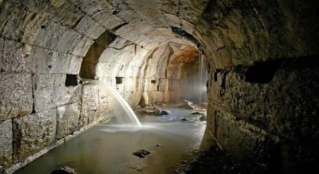 Cultura Pregunta Trivia: ¿En qué ciudad se instaló el primer alcantarillado de la historia?
