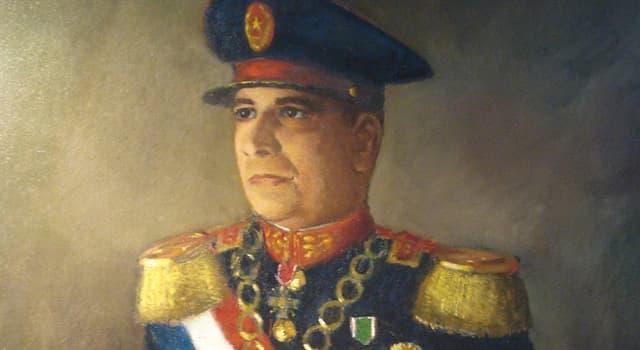 Historia Pregunta Trivia: ¿En qué década el líder paraguayo Higinio Morinigo prohibió todos los partidos de la oposición?