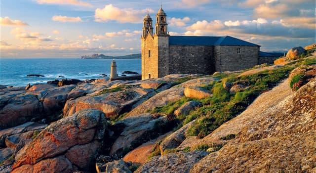 """Geografía Pregunta Trivia: ¿En qué provincia española está la denominada """"Costa da Morte""""?"""