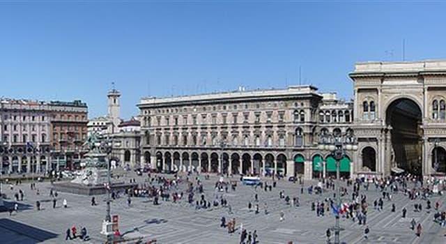 Geografía Pregunta Trivia: ¿En qué región de Italia se encuentra la ciudad de Milán?